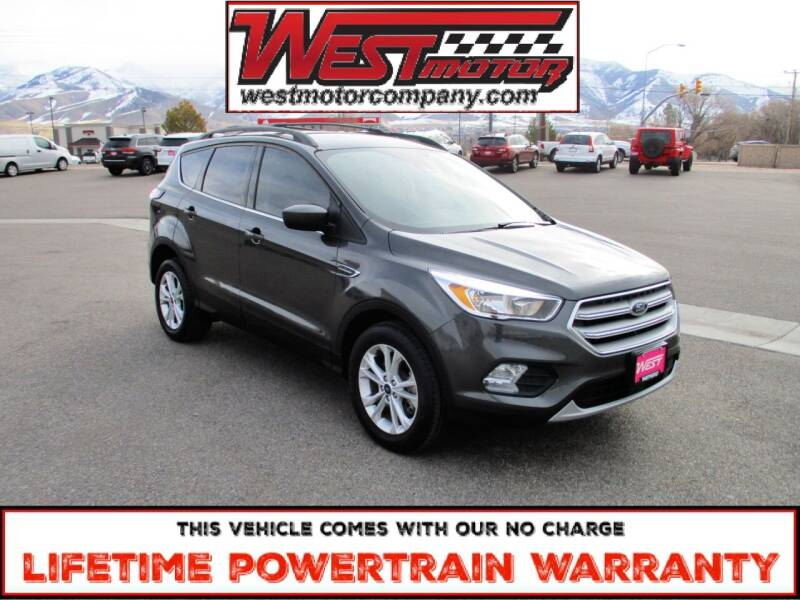 2018 Ford Escape for sale at West Motor Company in Preston ID