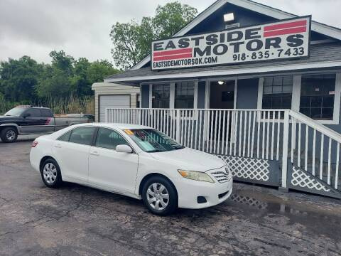 2011 Toyota Camry for sale at EASTSIDE MOTORS in Tulsa OK