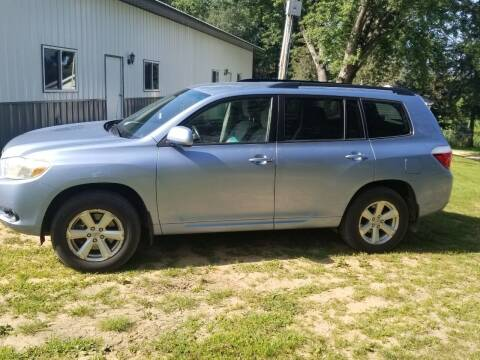 2008 Toyota Highlander for sale at Clairemont Motors in Eau Claire WI