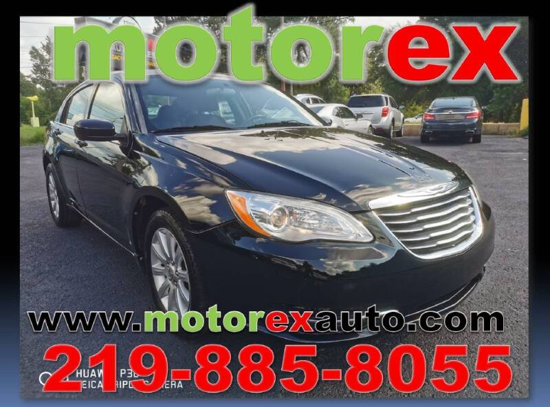 2013 Chrysler 200 for sale at Motorex Auto Sales in Schererville IN