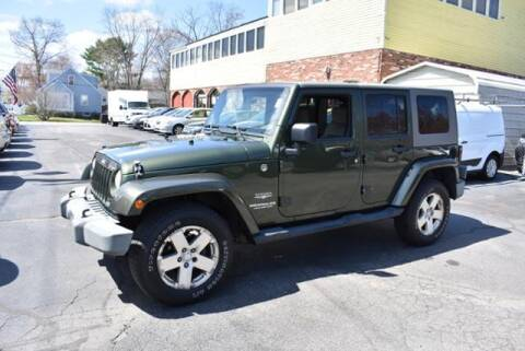 2008 Jeep Wrangler Unlimited for sale at Absolute Auto Sales, Inc in Brockton MA