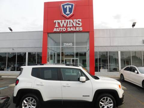2017 Jeep Renegade for sale at Twins Auto Sales Inc Redford 1 in Redford MI