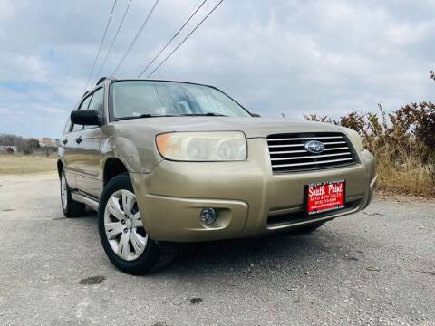 2008 Subaru Forester for sale at South Point Auto Sales in Buda TX