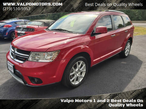 2013 Dodge Journey for sale at Valpo Motors 1 and 2  Best Deals On Quality Wheels in Valparaiso IN