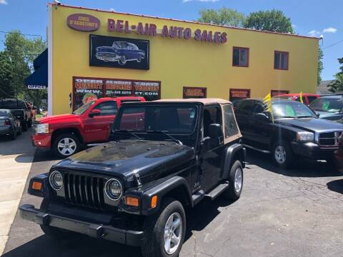 2004 Jeep Wrangler for sale at Bel Air Auto Sales in Milford CT
