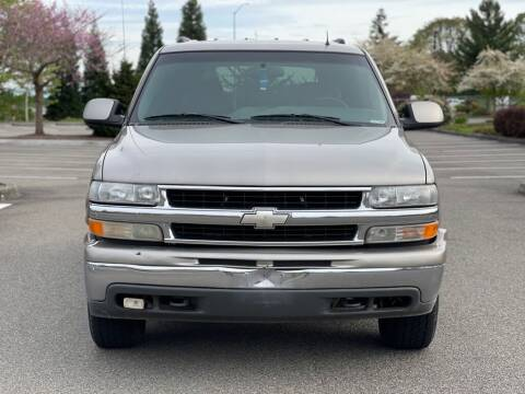 2002 Chevrolet Tahoe for sale at Q Motors in Tacoma WA