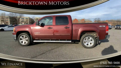 2013 GMC Sierra 1500 for sale at Bricktown Motors in Brick NJ