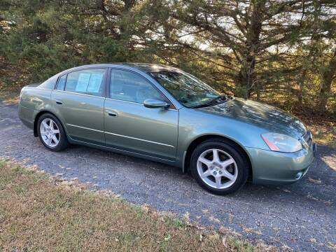 2002 Nissan Altima for sale at Kansas Car Finder in Valley Falls KS