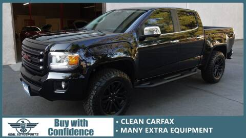 2016 GMC Canyon for sale at ASAL AUTOSPORTS in Corona CA