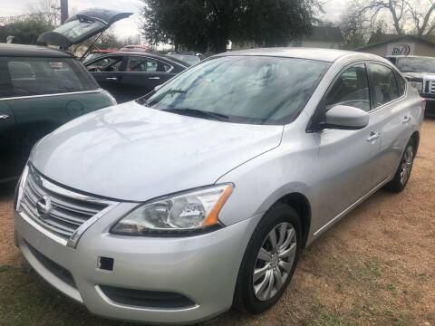 2014 Nissan Sentra for sale at S & J Auto Group in San Antonio TX
