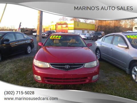 2001 Toyota Camry Solara for sale at Marino's Auto Sales in Laurel DE