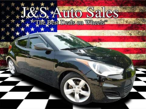 2012 Hyundai Veloster for sale at J & S Auto Sales in Clarksville TN