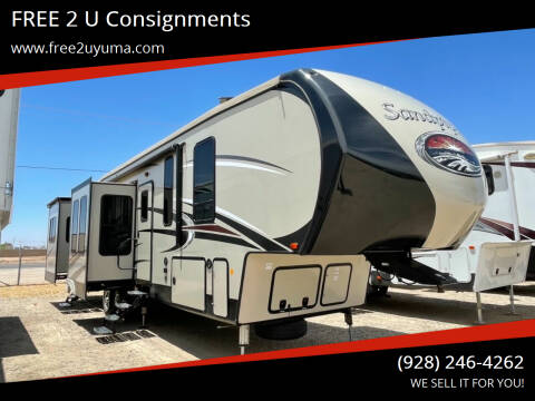 2017 Forest River Sandpiper for sale at FREE 2 U Consignments in Yuma AZ