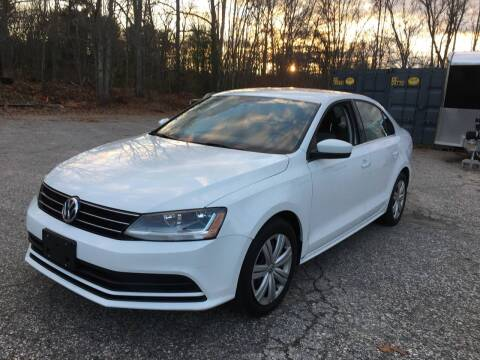 2017 Volkswagen Jetta for sale at Riverside Auto Sales & Service in Portland ME