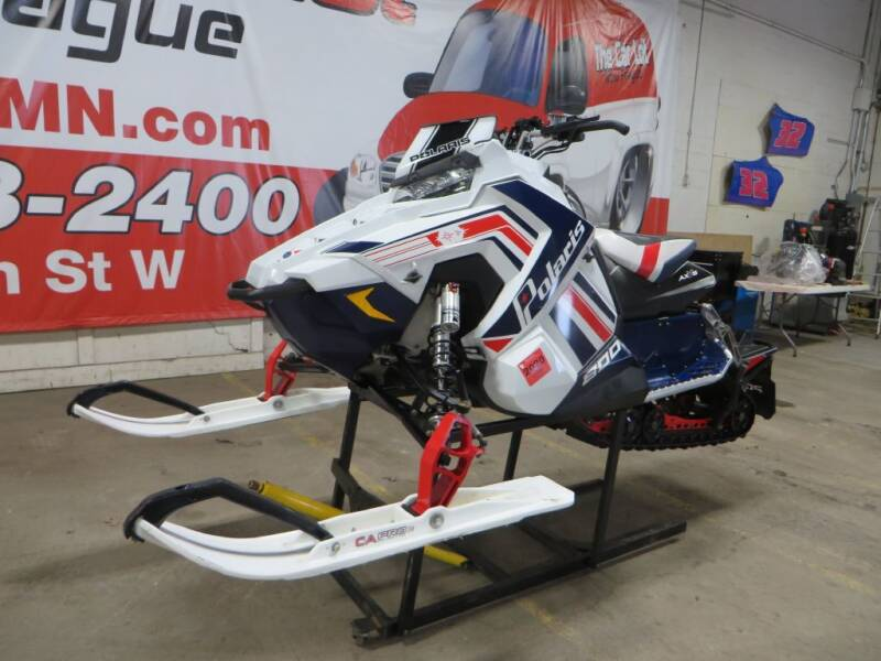2017 Polaris RUSH 800 for sale at The Car Lot in New Prague MN