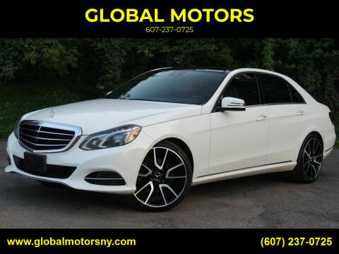 2014 Mercedes-Benz E-Class for sale at GLOBAL MOTORS in Binghamton NY