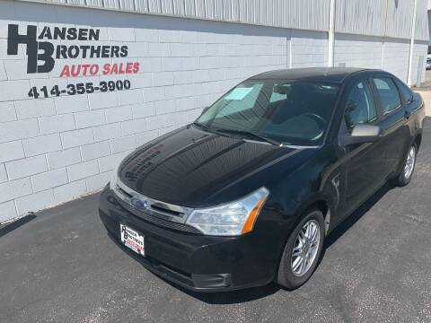 2008 Ford Focus for sale at HANSEN BROTHERS AUTO SALES in Milwaukee WI