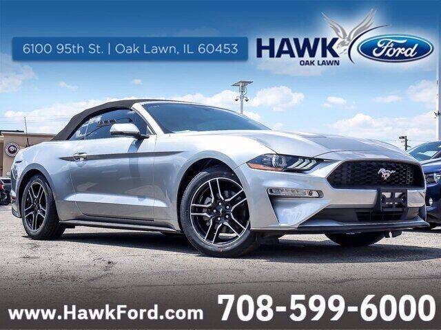2020 Ford Mustang for sale at Hawk Ford of Oak Lawn in Oak Lawn IL