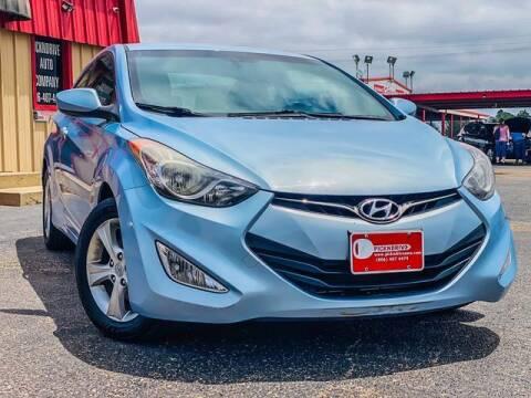 2013 Hyundai Elantra Coupe for sale at MAGNA CUM LAUDE AUTO COMPANY in Lubbock TX