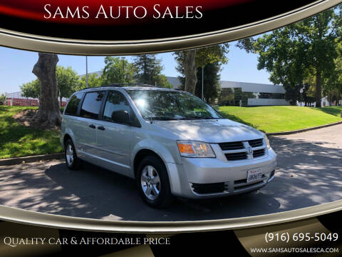2008 Dodge Grand Caravan for sale at Sams Auto Sales in North Highlands CA