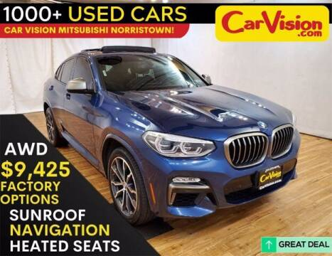 2019 BMW X4 for sale at Car Vision Buying Center in Norristown PA