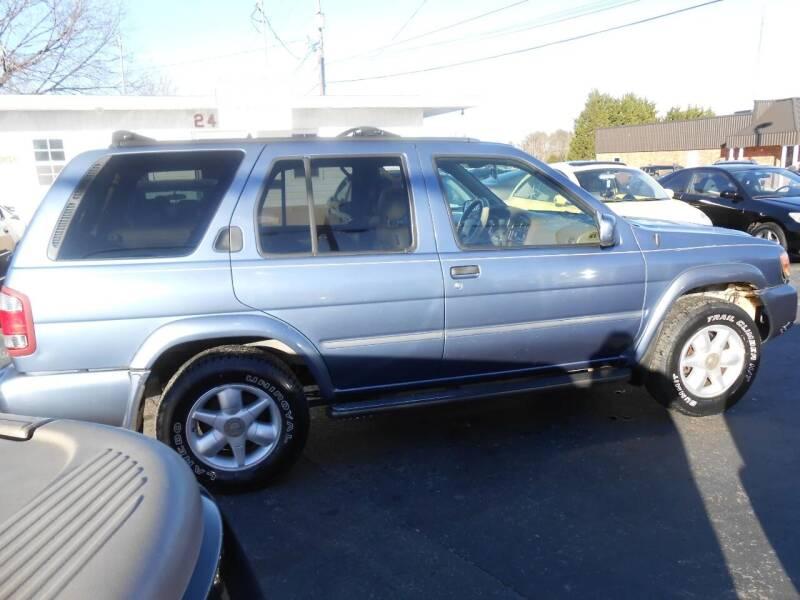 1999 Nissan Pathfinder for sale at granite motor co inc - Granite Motor Co 2 in Hickory NC