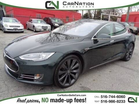 2013 Tesla Model S for sale at CarNation AUTOBUYERS, Inc. in Rockville Centre NY