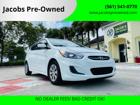 2016 Hyundai Accent for sale at Jacobs Pre-Owned in Lake Worth FL