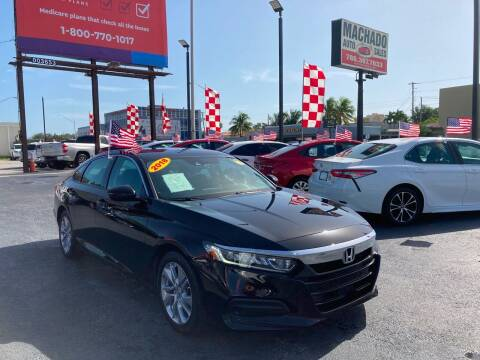 2018 Honda Accord for sale at MACHADO AUTO SALES in Miami FL