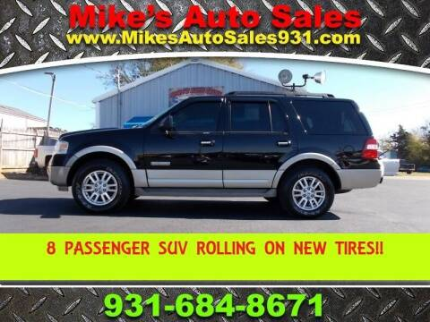 2008 Ford Expedition for sale at Mike's Auto Sales in Shelbyville TN