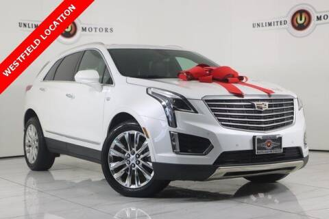 2017 Cadillac XT5 for sale at INDY'S UNLIMITED MOTORS - UNLIMITED MOTORS in Westfield IN