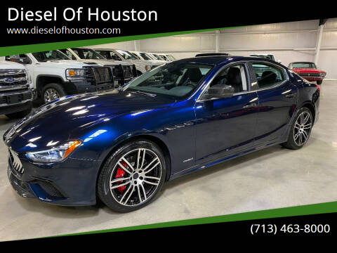 2019 Maserati Ghibli for sale at Diesel Of Houston in Houston TX