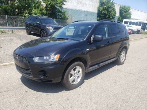 2010 Mitsubishi Outlander for sale at Positive Auto Sales, LLC in Hasbrouck Heights NJ