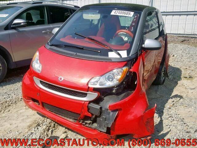 2012 Smart fortwo for sale at East Coast Auto Source Inc. in Bedford VA
