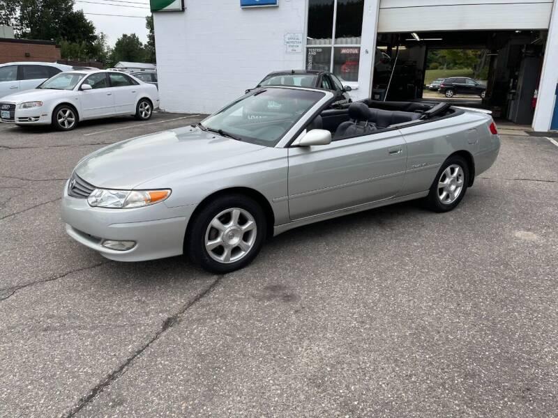 2003 Toyota Camry Solara for sale at Kar Kraft in Gilford NH