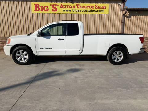 2008 Nissan Titan for sale at BIG 'S' AUTO & TRACTOR SALES in Blanchard OK