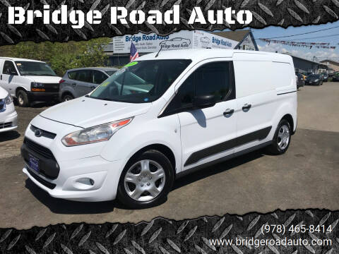 2016 Ford Transit Connect Cargo for sale at Bridge Road Auto in Salisbury MA