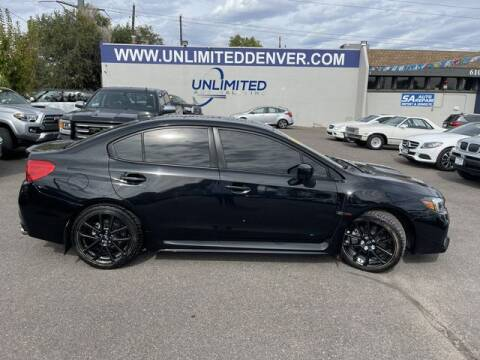 2020 Subaru WRX for sale at Unlimited Auto Sales in Denver CO