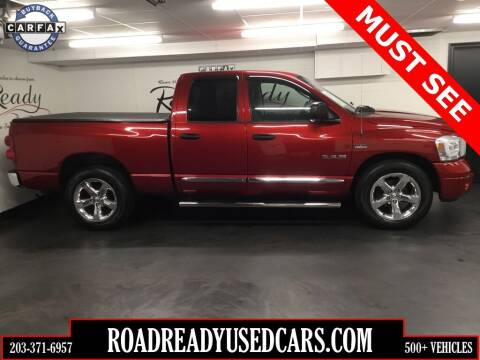 2008 Dodge Ram Pickup 1500 for sale at Road Ready Used Cars in Ansonia CT
