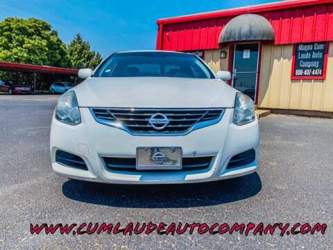 2012 Nissan Altima for sale at MAGNA CUM LAUDE AUTO COMPANY in Lubbock TX