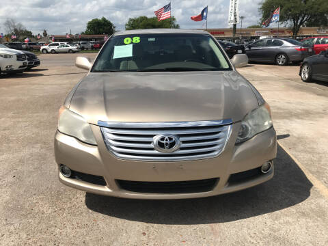 2008 Toyota Avalon for sale at SOUTHWAY MOTORS in Houston TX