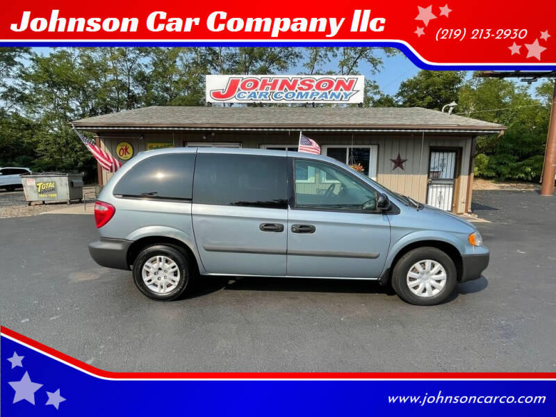 2005 Dodge Caravan for sale at Johnson Car Company llc in Crown Point IN
