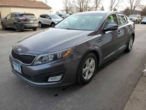 2015 Kia Optima for sale at MIDWEST CAR SEARCH in Fridley MN