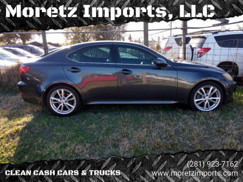 2008 Lexus IS 250 for sale at Moretz Imports, LLC in Spring TX