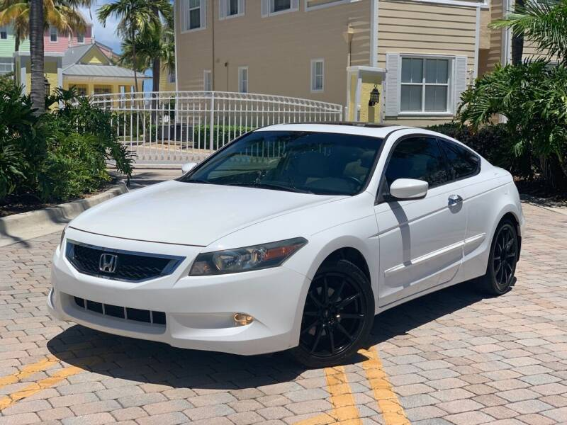 2008 Honda Accord for sale at Citywide Auto Group LLC in Pompano Beach FL