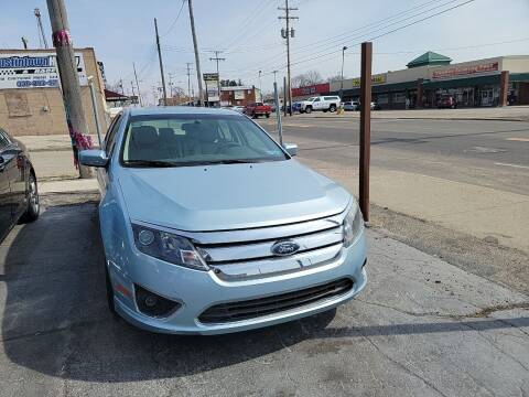 2010 Ford Fusion Hybrid for sale at JORDAN AUTO SALES in Youngstown OH