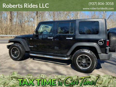 2008 Jeep Wrangler Unlimited for sale at Roberts Rides LLC in Franklin OH