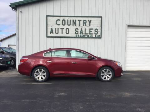 2010 Buick LaCrosse for sale at COUNTRY AUTO SALES LLC in Greenville OH
