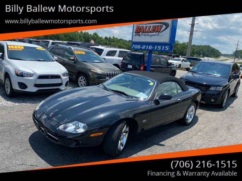 1998 Jaguar XK-Series for sale at Billy Ballew Motorsports in Dawsonville GA