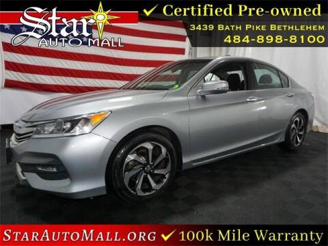 2017 Honda Accord for sale at STAR AUTO MALL 512 in Bethlehem PA